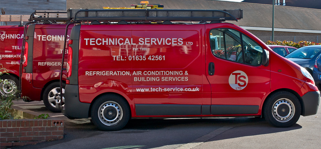 Technical Services Van Fleet